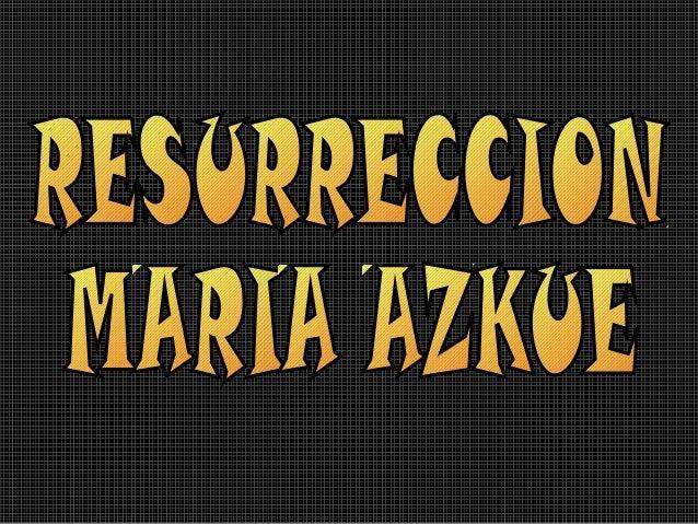 Resurreccion de Jesus Maria de las Nieves Azkue Aberasturi Barrundia Uribarri Bizkaiko Lekeition jaio zen 1864. urteko abu...