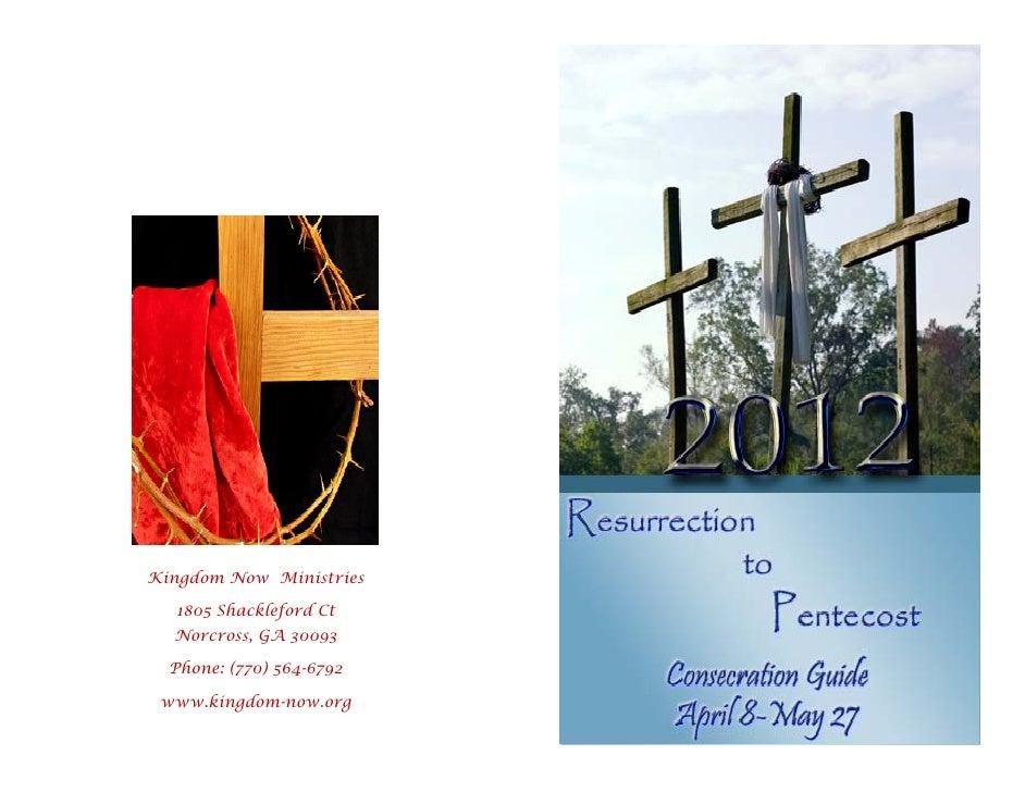 Kingdom Now Ministries  1805 Shackleford Ct  Norcross, GA 30093  Phone: (770) 564-6792 www.kingdom-now.org