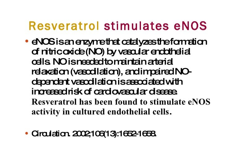Resveratrol Improve Cellular Heart Health