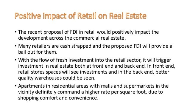 retail in fdi a boon to Retail boom in india  curse or boon i m talking about reliance fresh or mittal-walmart colaboration the survey, carried out in three sub-regions in.