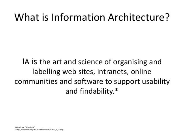 Extending IA past taxonomies - a case study of Debenhams Retail IA Slide 3