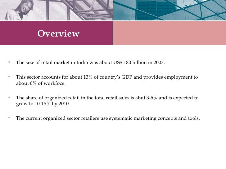 Retail   The Booming Sector Slide 2