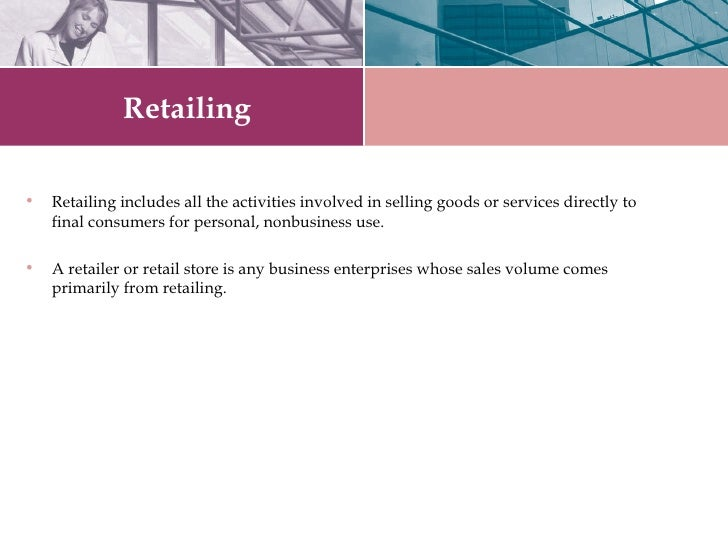 Retail   The Booming Sector Slide 3