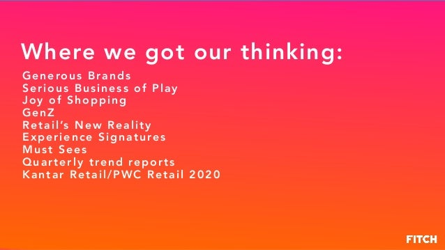 Retail 2020: Retail Will Change more in the Next 5 Years than the Last 50 Slide 2