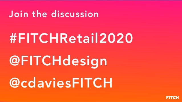 Retail 2020: Retail Will Change more in the Next 5 Years than the Last 50 Slide 3