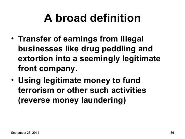 September 25, 2014 55; 56. A Broad Definition ...