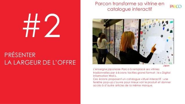 Parcon transforme sa vitrine en catalogue interactif #2 L'enseigne japonaise Parco à remplacé ses vitrines tradionnelles p...