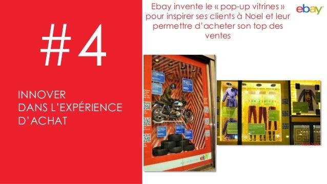 Ebay invente le « pop-up vitrines » pour inspirer ses clients à Noel et leur permettre d'acheter son top des ventes #4 New...