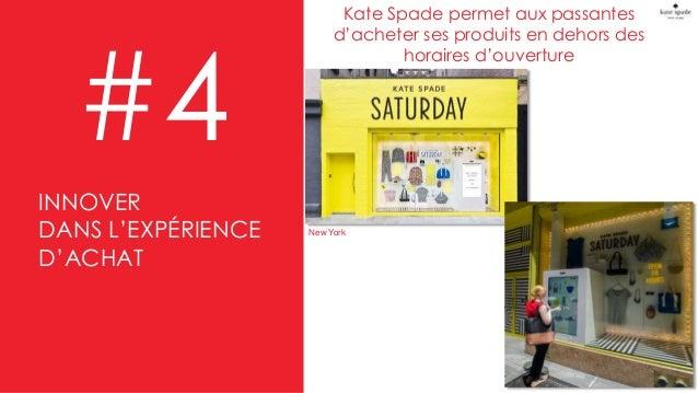 Kate Spade permet aux passantes d'acheter ses produits en dehors des horaires d'ouverture #4 New York INNOVER DANS L'EXPÉR...