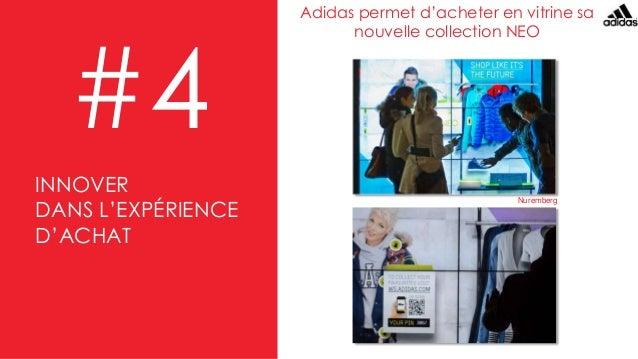 Adidas permet d'acheter en vitrine sa nouvelle collection NEO #4 Nuremberg INNOVER DANS L'EXPÉRIENCE D'ACHAT