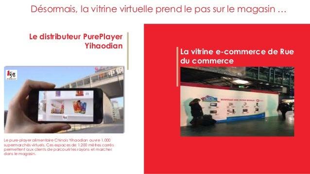 Le distributeur PurePlayer Yihaodian La vitrine e-commerce de Rue du commerce Désormais, la vitrine virtuelle prend le pas...