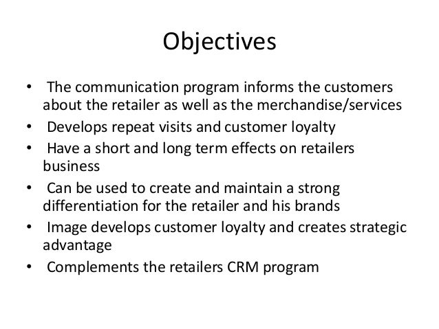 what are the objectives of communication