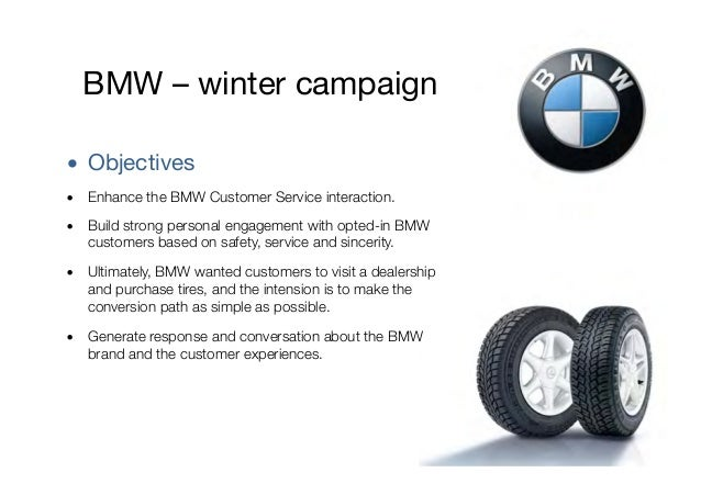 bmw objectives 2017