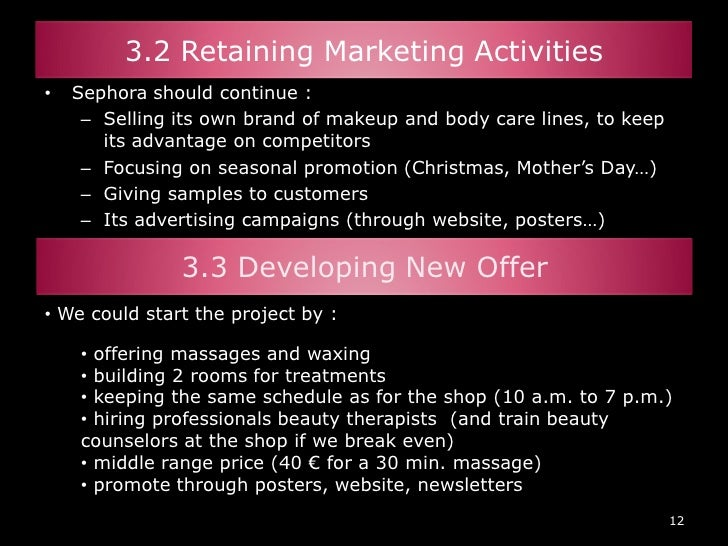 Beauty Products Business Plan