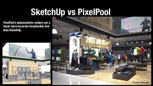sketchup vs pixelpool pixelpool render - Retail Design Ideas