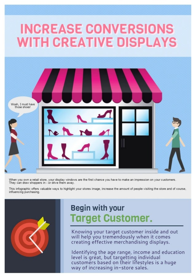 How To Increase Conversions With Creative Retail Displays