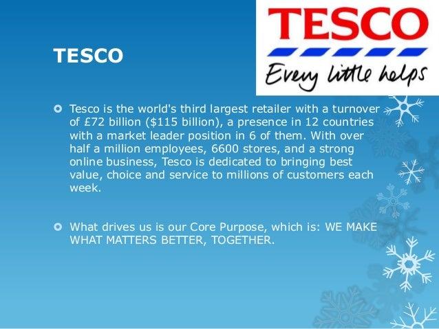 Tesco Company Profile