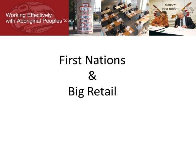 First Nations & Big Retail .com