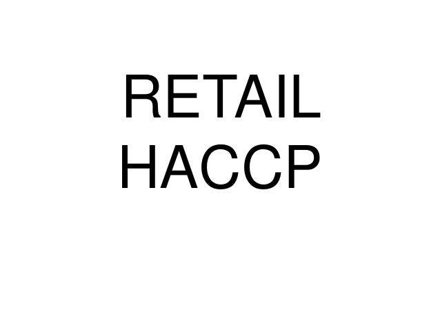 RETAIL HACCP