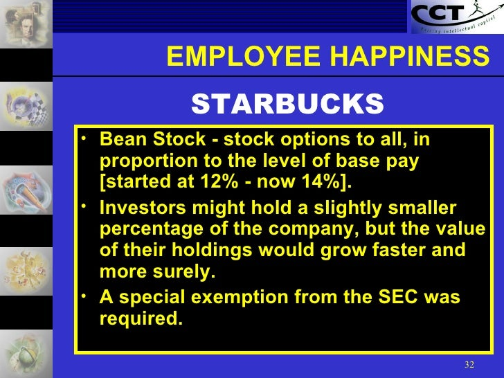 Starbucks stock options employees