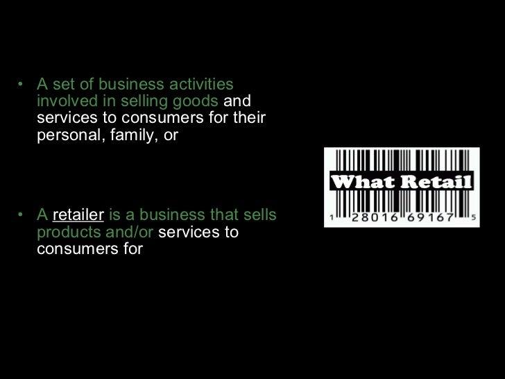 Retailing Slide 2