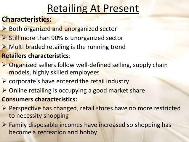 Fashion Retailing Past Present And Future