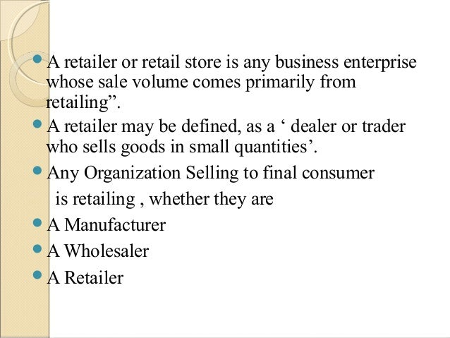 Retailing in india ppt 0 Slide 3