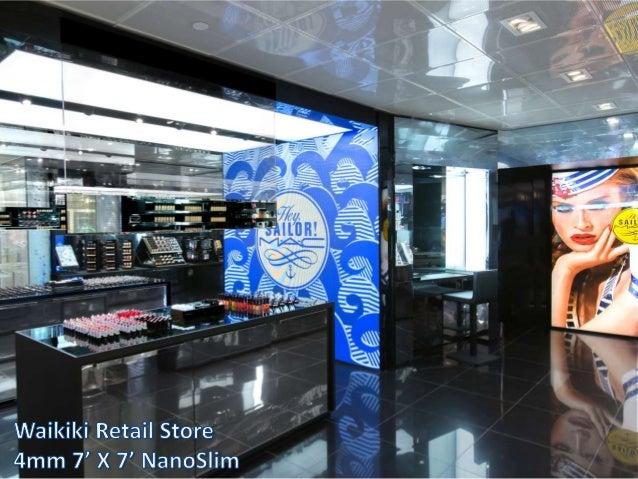 NanoLumens Retail Installations