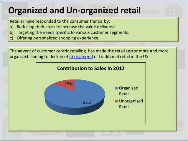 Organized and Un-organized retailRetailer have responded to the consumer trends by:a) Reducing their costs to increase the...