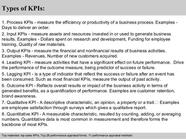 Using key performance indicators to measure progress.
