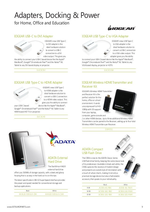 IOGEAR Accessory GUC3CVGA USB Type-C to VGA Adapter Electronic Consumer Electronics