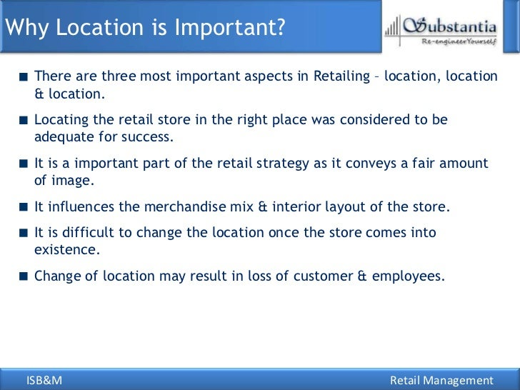 importance of retail business