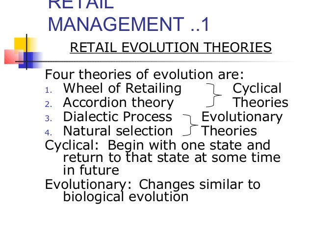 Natural Selection Theory In Retail