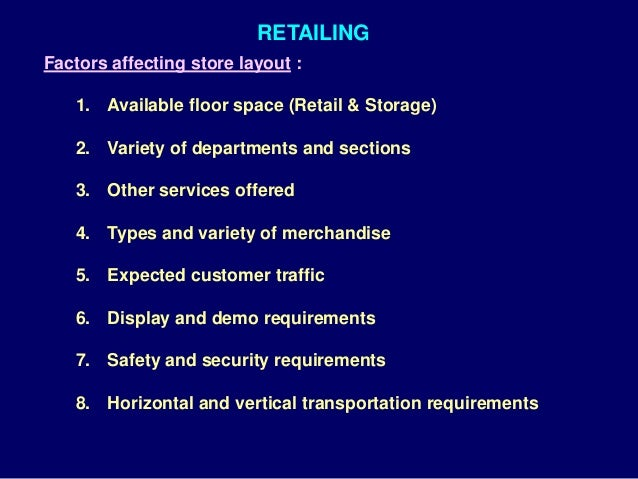 The Role of Macro Environment in the Retail Industry