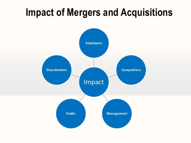 the impact of mergers and acquisitions Benefits of bank mergers and acquisitions scale  and the resulting impact on their customers causes the newly merged bank to fail completely.
