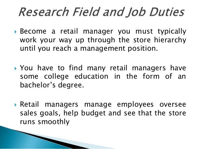 how to become a better manager in retail