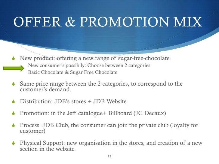 OFFER U0026 PROMOTION .  Promotion Proposal Sample