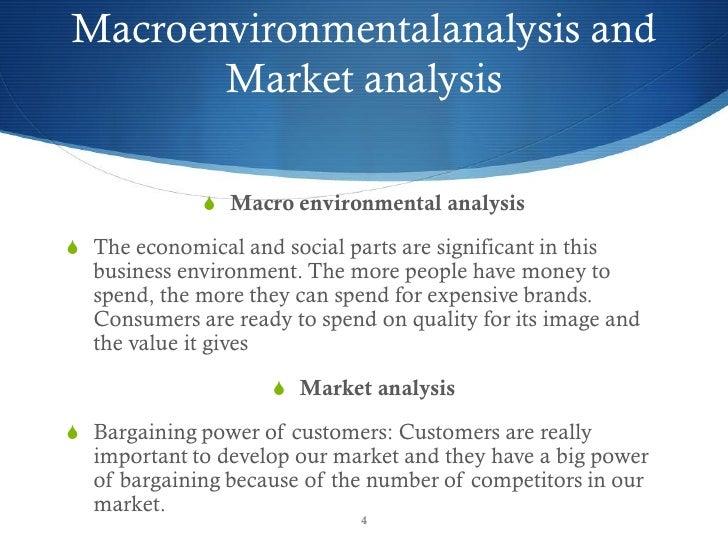... 4. Macroenvironmentalanalysis And Market Analysis ...