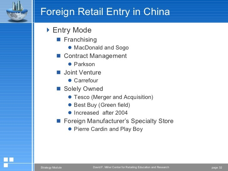 carrefour strategy in china The case discusses the entry and expansion strategies of french retailer carrefour, in the chinese market carrefour began its chinese operations by forming joint ventures in the year 1995.