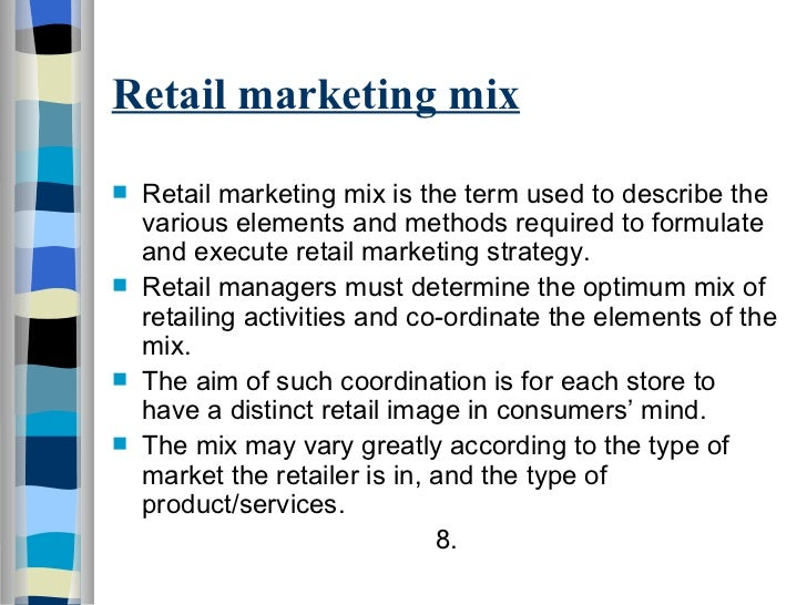 marketing mix in a fmcg company Marketing strategy on different stages plc and on the product marketing mix and marketing these concepts in product vs service marketing of fmcg.
