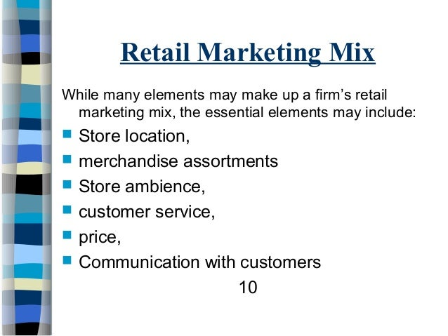 marketing mix describe how each element is implemented Your marketing plan must do more than just say what you want to happen it must  describe each.