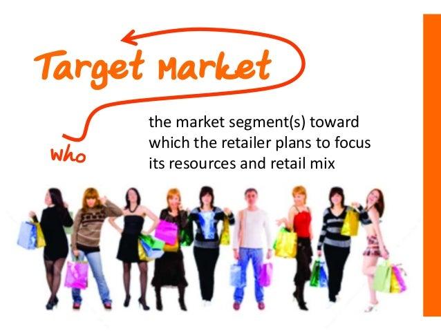 Retail market strategy Slide 3