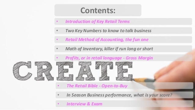 Basics of retail math retail interview fandeluxe Gallery