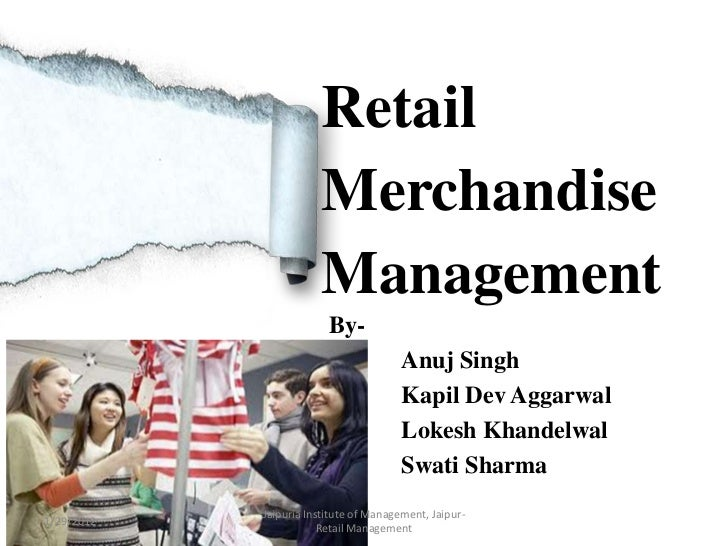Retail                       Merchandise                       Management                         By-                     ...