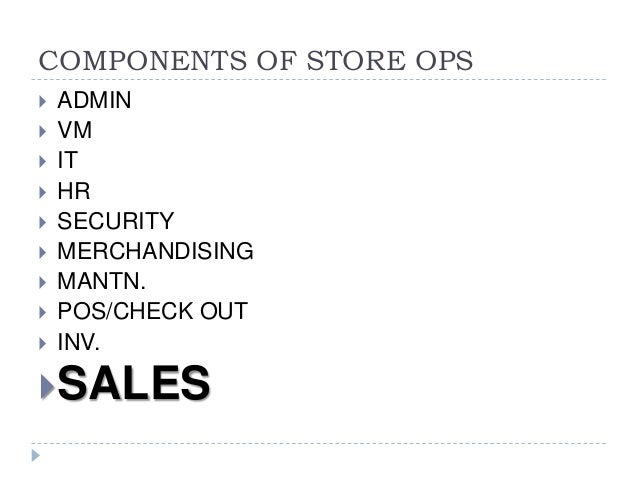 Classification of Retail Stores Formats on the Basis of Product, Price and Location