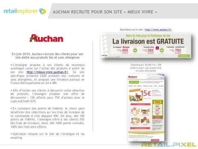 Retail pixel 2014 auchan actions commerciales et digitales - Auchan recrute fr ...
