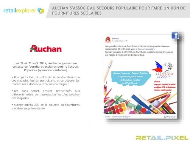 Retail pixel 2014 auchan actions commerciales et digitales - Donner des meubles au secours populaire ...