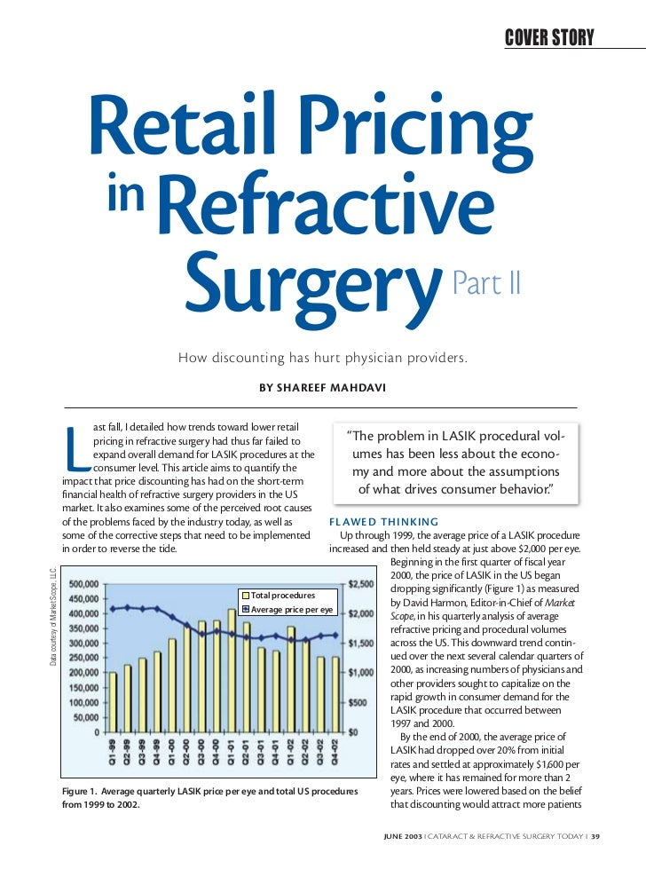 COVER STORY                                           Retail Pricing                                           in Refracti...