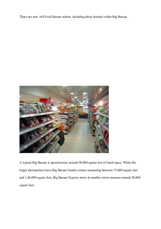 project report on retail Development of 16 repeatable reports via the factory  working with infosys's  consumer genome project, the footwear retailer has made definitive leaps in.
