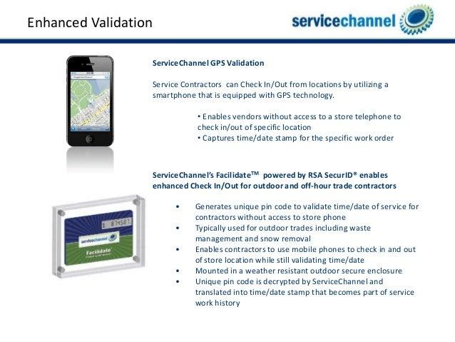 Enhanced Validation; 24. Enhanced Validation ServiceChannel ...